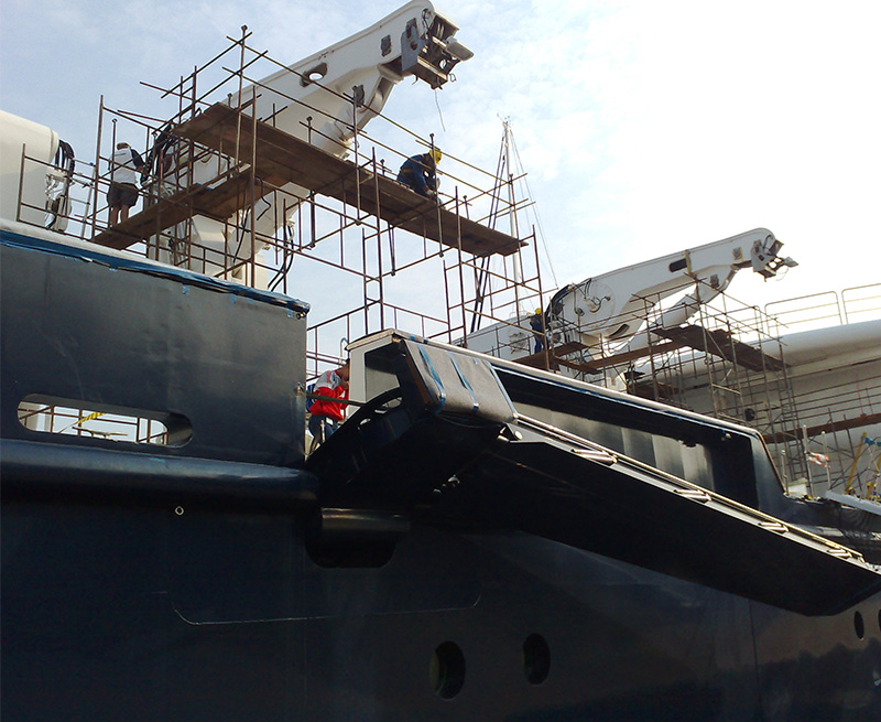 Major-refit-of-130M-Yacht