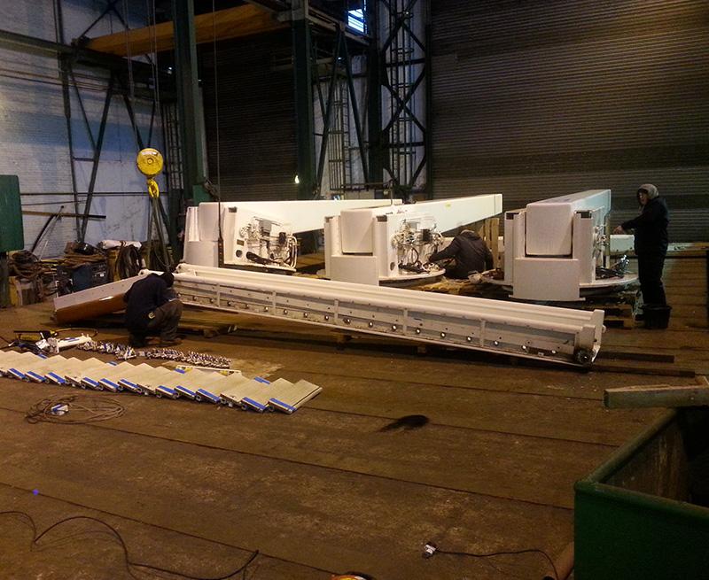 Complete-overhaul-of-3-x-cranes.-93M-Yacht