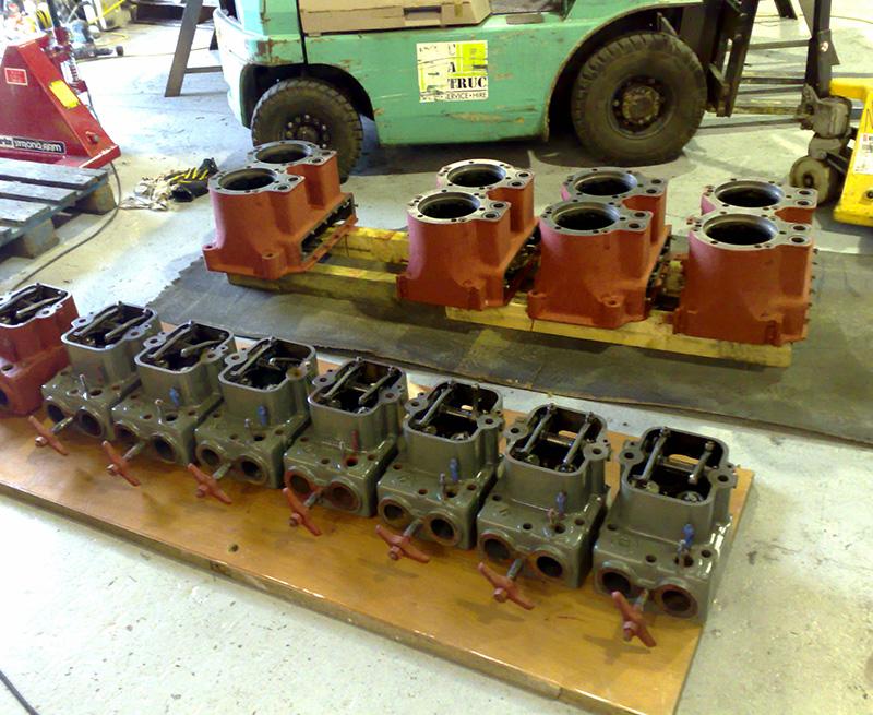 Romara-1934-Gardner-Cylinder-Heads-Restored